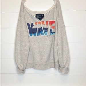 American Eagle Beach Babe Pullover Sz. Small